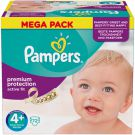 Pampers Active Fit Taille 4+ (9-20 kg) 72 Couches