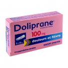 DOLIPRANE 100 mg Suppos sécable B/10