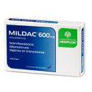 MILDAC 600MG CPR BT 15