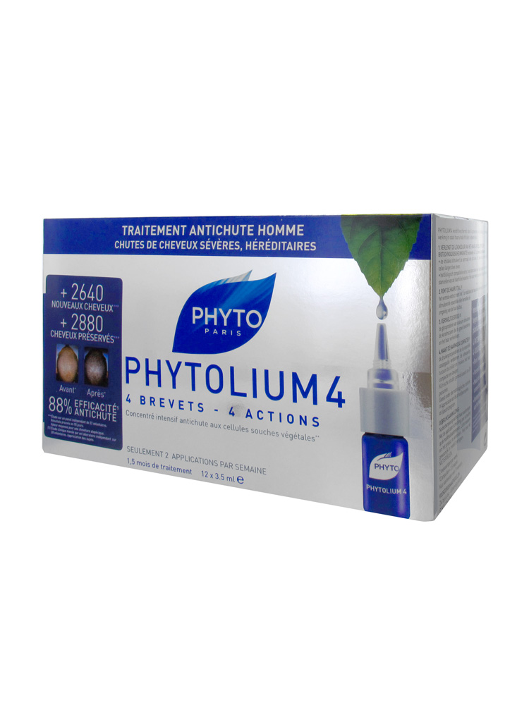 prix de phytosolba phytolium 4 traitements anti chute homme 12 fioles. Black Bedroom Furniture Sets. Home Design Ideas